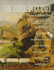 Cover of: American Journey, The