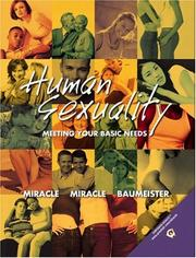 Cover of: Human Sexuality