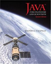 Cover of: Java for Engineers and Scientists, Second Edition