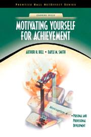 Cover of: Motivating Yourself for Achievement