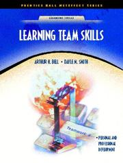 Cover of: Learning Team Skills