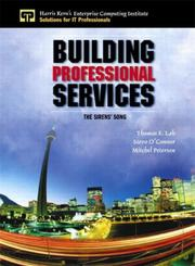 Cover of: Building Professional Services