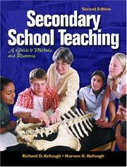 Cover of: Secondary School Teaching