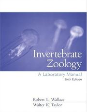 Cover of: Invertebrate Zoology Lab Manual (6th Edition)