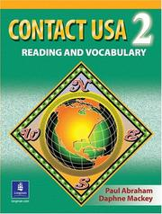 Cover of: Contact USA 2
