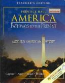 Cover of: America Pathways to the Present