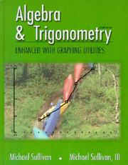 Cover of: Algebra & Trigonometry Enhanced with Graphing Utilities (2nd Edition)