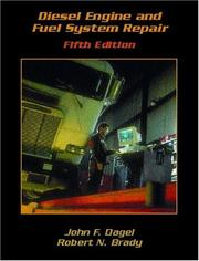 Cover of: Diesel Engine and Fuel System Repair (5th Edition)