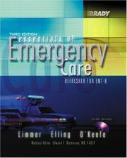 Cover of: Essentials of Emergency Care
