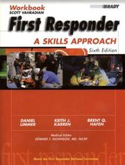 Cover of: First Responder
