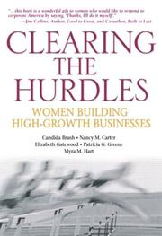 Cover of: Clearing the Hurdles