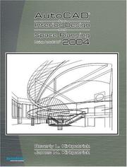 Cover of: AutoCAD 2004 for Interior Design and Space Planning