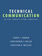 Cover of: Technical Communication in the 21st Century