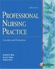 Cover of: Professional Nursing Practice