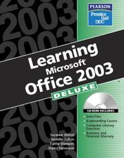 Cover of: Learning Office 2003