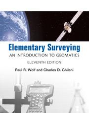Cover of: Elementary Surveying