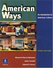 Cover of: American Ways