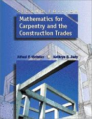 Cover of: Mathematics for Carpentry and the Construction Trades (2nd Edition)