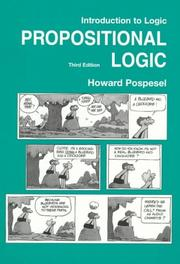 Cover of: Introduction to Logic