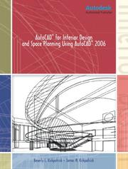 Cover of: AutoCAD for Interior Design and Space Planning Using AutoCAD(R) 2006