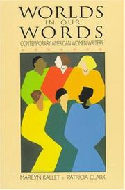 Cover of: Worlds in Our Words