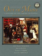 Cover of: Out of Many, Vols. 1 and 2, Brief Fourth Edition