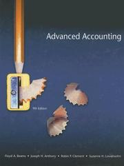 Cover of: Advanced Accounting (9th Edition) (Advanced Accounting)