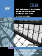 Cover of: IBM(R) WebSphere(R) Application Server for Distributed Platforms and z/OS(R)