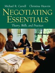 Cover of: Negotiating Essentials