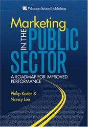 Cover of: Marketing in the Public Sector