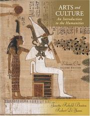 Cover of: Arts and Culture