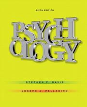 Cover of: Psychology (5th Edition)