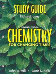 Cover of: Chemistry for Changing Times