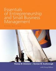 Cover of: Essentials of Entrepreneurship and Small Business Management (5th Edition)