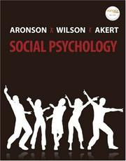Cover of: Social Psychology (6th Edition)