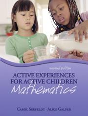 Cover of: Active Experiences for Active Children