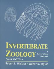 Cover of: Invertebrate Zoology