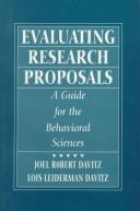 Cover of: Evaluating Research Proposals