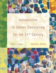 Cover of: Introduction to Career Counseling for the 21st Century