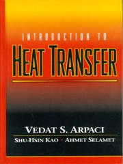 Cover of: Introduction to Heat Transfer