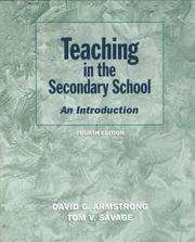 Cover of: Teaching in the Secondary School
