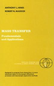 Cover of: Mass Transfer