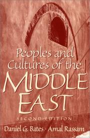 Cover of: Peoples and Cultures of the Middle East (2nd Edition)