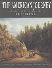 Cover of: American Journey