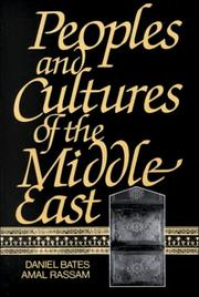 Cover of: Peoples and Cultures of the Middle East