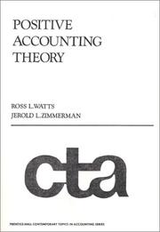 Cover of: Positive Accounting Theory