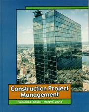 Cover of: Construction Project Management
