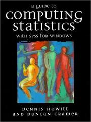 Cover of: Guide to Computing Statistics With Spss for Windo