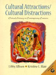 Cover of: Cultural Attractions/Cultural Distractions