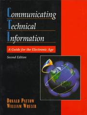 Cover of: Communicating Technical Information